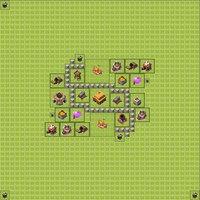 Расстановка базы в clash of clans тх 3
